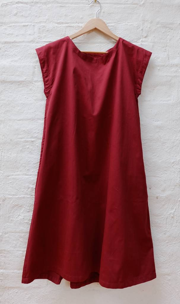 Organic cotton twill easy dress