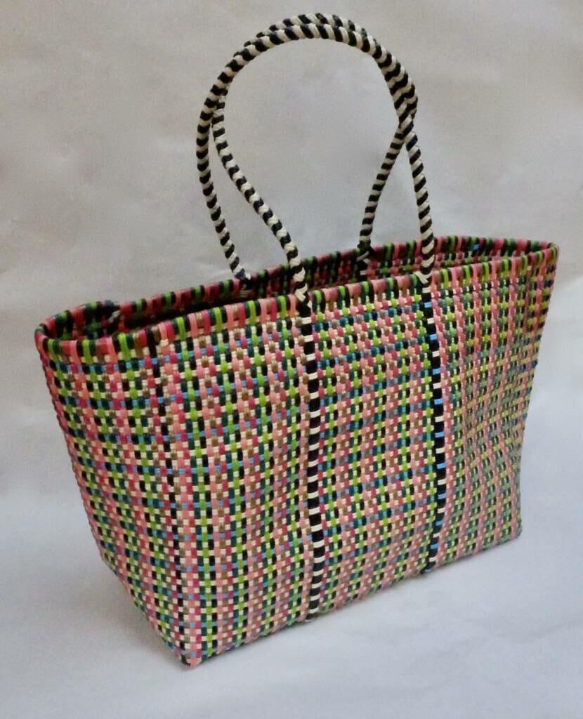 hand woven shopping basket