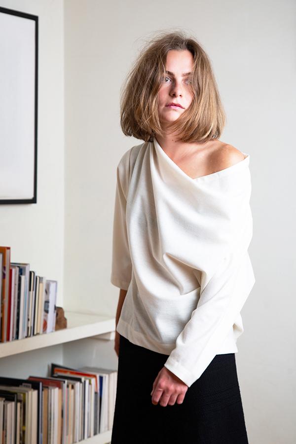 Perpetual Top in wool